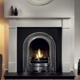 51″ Classic Limestone Fireplace package