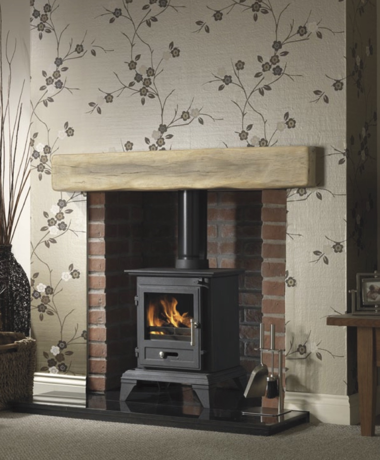 Classic 5kw multi fuel - Belfast Fire Studio Electric Stove Top Granite