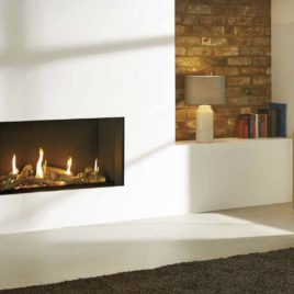 Gazco Eclipse 100 edge Gas Fire