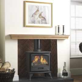 Firefox 8kw Multi-fuel stove DEFRA