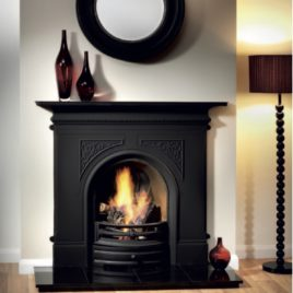 48″ Gallery Cast Iron Fireplace