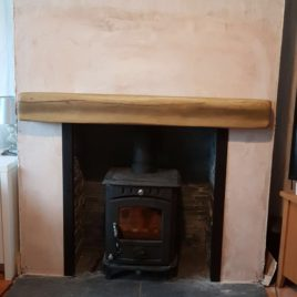 5kw Bilberry package with slate chamber beam and hearths