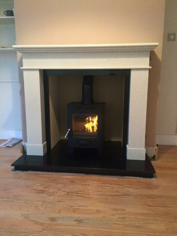54 Quot Renoir Fireplace Package With Stovax Stockton 5kw