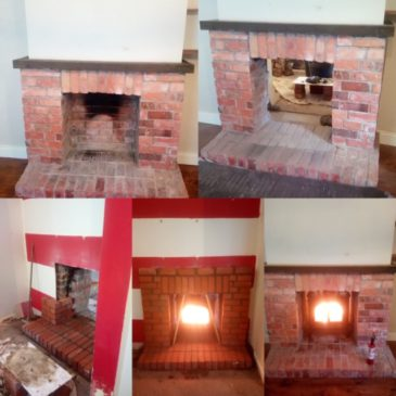 Recently installed Stovax Stockton double sided stove in Hollywood
